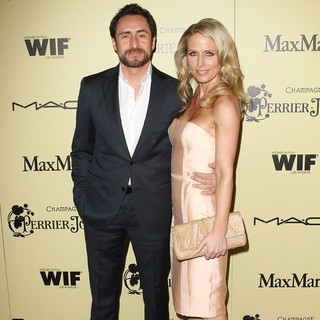 Demian Bichir, Stefanie Sherk in 5th Annual Women in Film Pre-Oscar Cocktail Party