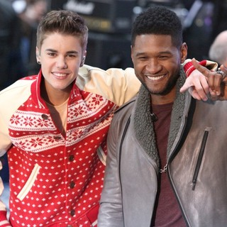 Justin Bieber - Justin Bieber and Usher Perform on Today as Part of The Toyota Concert Series