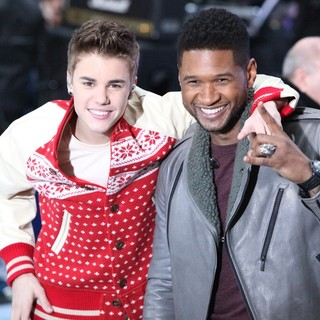 Justin Bieber, Usher in Justin Bieber and Usher Perform on Today as Part of The Toyota Concert Series