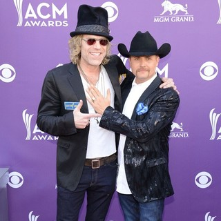 Big & Rich in 48th Annual ACM Awards - Arrivals - big-rich-48th-annual-acm-awards-02