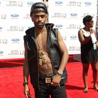 Big Sean in The BET Awards 2012 - Arrivals