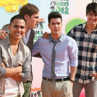 Big Time Rush in 2012 Kids' Choice Awards - Arrivals