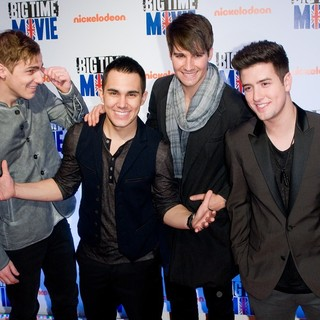 Big Time Rush in Big Time Movie New York Premiere - Arrivals