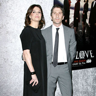 "Jeanne Tripplehorn, Leland Orser in Los Angeles Premiere of The HBO Original Series ""Big Love"" Season 5"