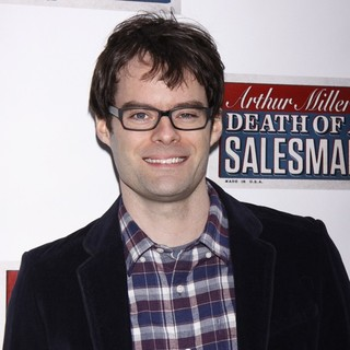 Bill Hader in Broadway Opening Night of Death of A Salesman - Arrivals