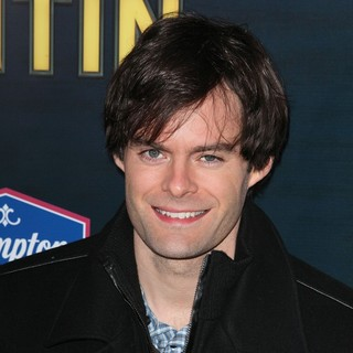 Bill Hader in The New York Premiere of The Adventures of Tintin: The Secret of the Unicorn