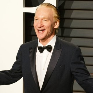 Bill Maher in 2017 Vanity Fair Oscar Party - Arrivals