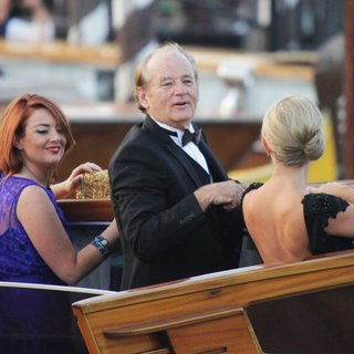 Bill Murray in The Wedding of George Clooney and Amal Alamuddin