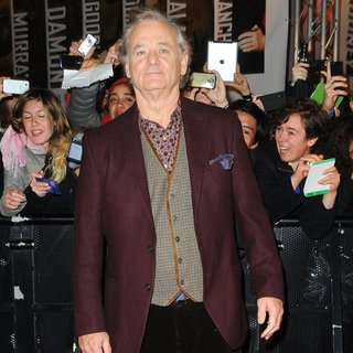 Bill Murray in The Italy Premiere of The Monuments Men - Arrivals