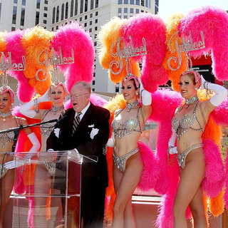 Oscar Goodman in 2011 Billboard Music Awards Nominees Press Conference