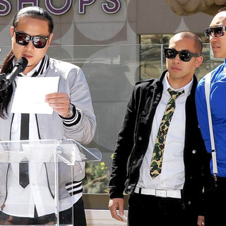Far East Movement in 2011 Billboard Music Awards Nominees Press Conference