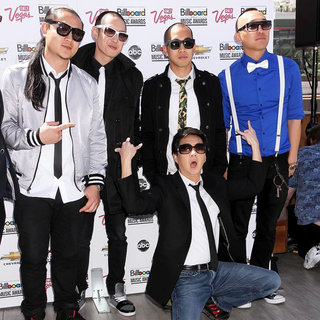 Far East Movement, Ken Jeong in 2011 Billboard Music Awards Nominees Press Conference