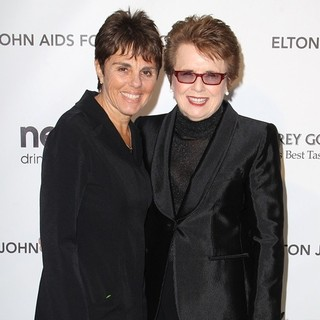 Billie Jean King in 21st Annual Elton John AIDS Foundation's Oscar Viewing Party
