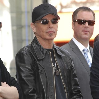 Billy Bob Thornton in John Cusack Honored with A Star on The Hollywood Walk of Fame
