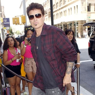 Billy Ray Cyrus Arrives at A New York Hotel