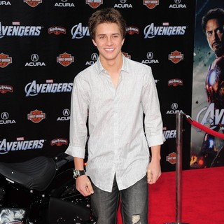 Billy Unger in World Premiere of The Avengers - Arrivals
