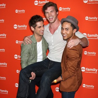 Jean-Luc Bilodeau, Derek Theler, Tahj Mowry in ABC Family West Coast Upfronts Party
