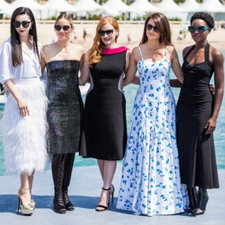 Fan Bingbing, Marion Cotillard, Jessica Chastain, Penelope Cruz, Lupita Nyong'o in 71st Annual Cannes Film Festival - 355 - Photocall