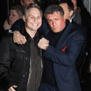 Jason Binn, Sylvester Stallone in Grudge Match New York Screening - Red Carpet Arrivals