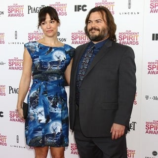 Tanya Haden, Jack Black in 2013 Film Independent Spirit Awards - Arrivals