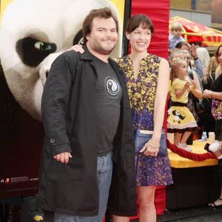 Jack Black, Tanya Haden in Los Angeles Premiere of Kung Fu Panda 2