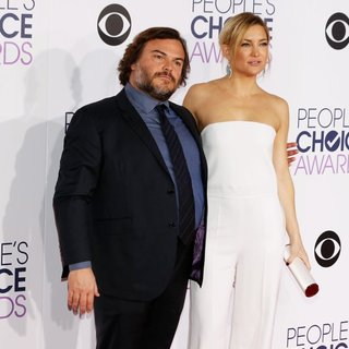 Jack Black, Kate Hudson in People's Choice Awards 2016 - Arrivals