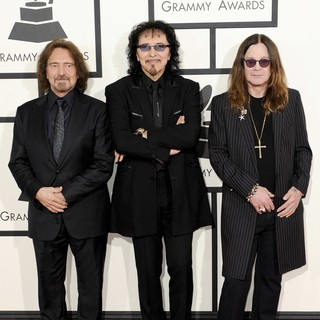 Black Sabbath in The 56th Annual GRAMMY Awards - Arrivals