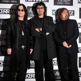 Ozzy Osbourne, Tony Iommi, Geezer Butler, Black Sabbath in Kerrang! Awards 2012 - Arrivals
