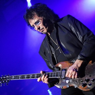 Tony Iommi, Black Sabbath in Black Sabbath Perform Live at The Cardiff International Arena