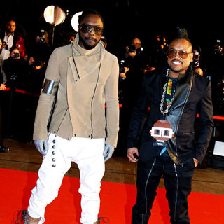 Black Eyed Peas in NRJ Music Awards 2011 Ceremony - Arrivals