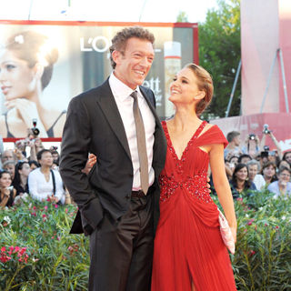 Vincent Cassel, Natalie Portman in The 2010 Venice Film Festival - Day 1 - 'Black Swan'