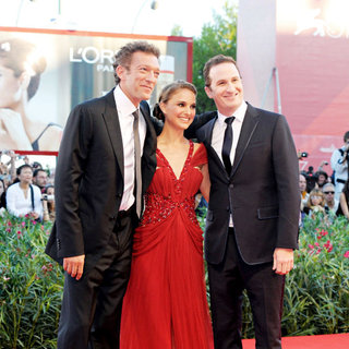 Vincent Cassel, Natalie Portman, Darren Aronofsky in The 2010 Venice Film Festival - Day 1 - 'Black Swan'