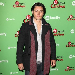 Blair Redford in ABC Family's 25 Days of Christmas Winter Wonderland Event
