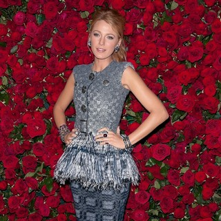 Blake Lively in Museum of Modern Art's 4th Annual Film Benefit A Tribute to Pedro Almodovar - Arrivals