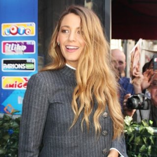 Blake Lively at A French Television Studio