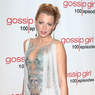 Blake Lively in Gossip Girl Celebrates 100 Episodes