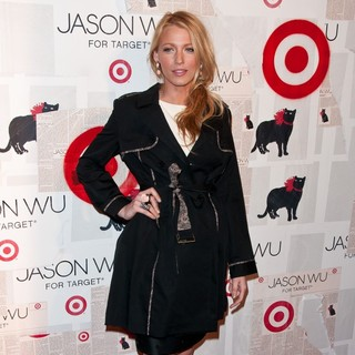 Blake Lively in Jason Wu for Target Launch