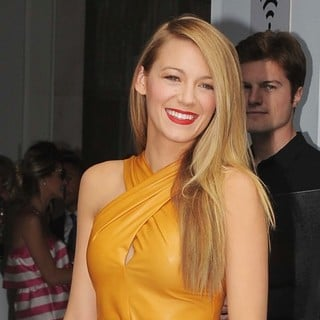 Blake Lively in Milan Fashion Week SS14 - Gucci - Outside Arrivals