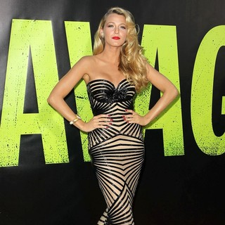 Blake Lively in The Premiere of Savages