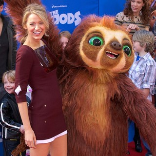 Blake Lively in The Croods Premiere - Arrivals