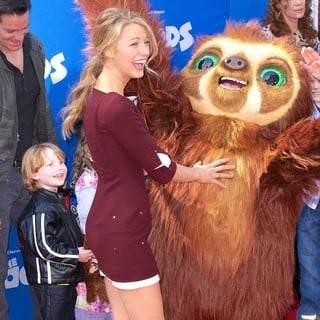 The Croods Premiere - Arrivals
