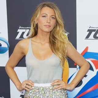Blake Lively in New York Premiere of Turbo