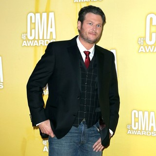 Blake Shelton in 46th Annual CMA Awards