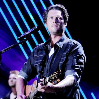 Blake Shelton in The Final Night of The 2011 CMA Music Festival Nightly Concerts