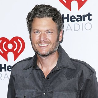 Blake Shelton in iHeartRadio Music Festival 2015 - Day 2 - Arrivals