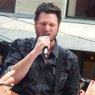 Blake Shelton in Blake Shelton Performing Live as Part of The Today Show Concert Series