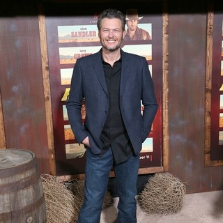 Blake Shelton in Premiere of Netflix's The Ridiculous 6