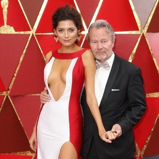 Blanca Blanco, John Savage in 90th Annual Academy Awards - Arrivals
