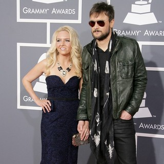 Katherine Blasingame, Eric Church in 55th Annual GRAMMY Awards - Arrivals