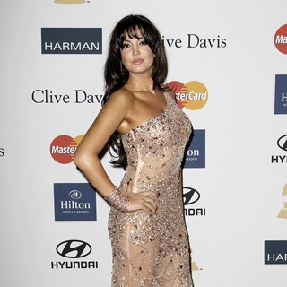 Bleona Qereti in Clive Davis and The Recording Academy's 2013 Pre-Grammy Gala and Salute to Industry Icons